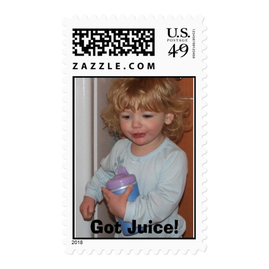 Got Juice! Postage Stamp