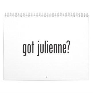got julienne calendars
