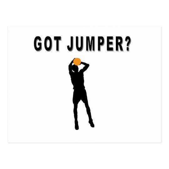 Got Jumper? Postcard