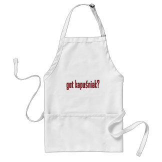 got kapusniak? adult apron