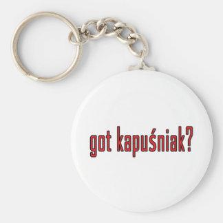 got kapusniak? keychain