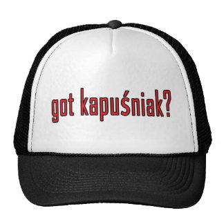 got kapusniak? trucker hat