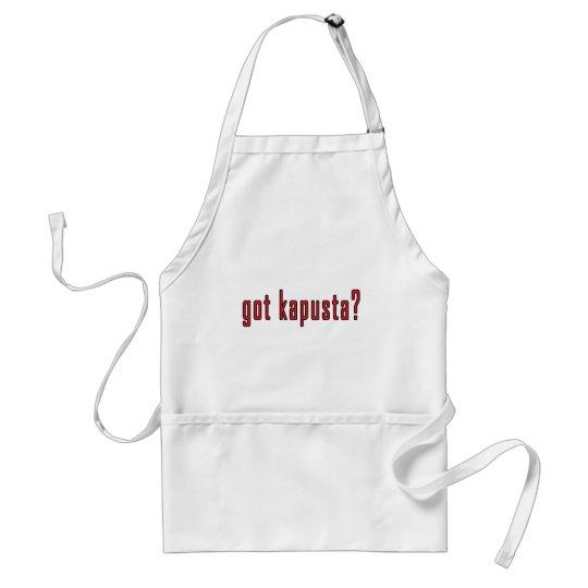 got kapusta? adult apron