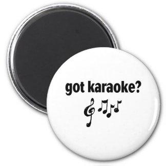 got karaoke magnet