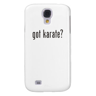 got karate? galaxy s4 cover