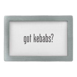 got kebabs rectangular belt buckle