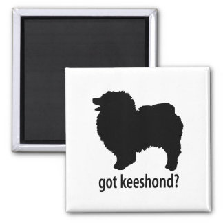 Got Keeshond 2 Inch Square Magnet