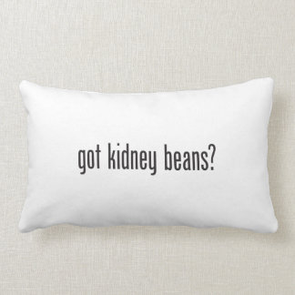 got kidney beans lumbar pillow