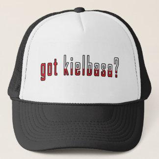 got kielbasa? Flag Trucker Hat