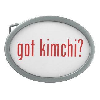 got kimchi? belt buckles
