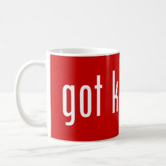 got kimchi? coffee mug
