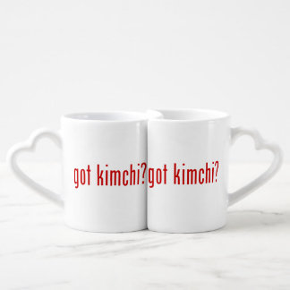 got kimchi? coffee mug set