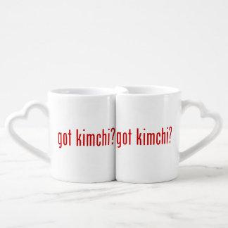 got kimchi? couples coffee mug