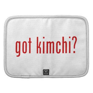 got kimchi? organizer