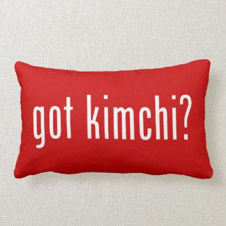 got kimchi? throw pillow