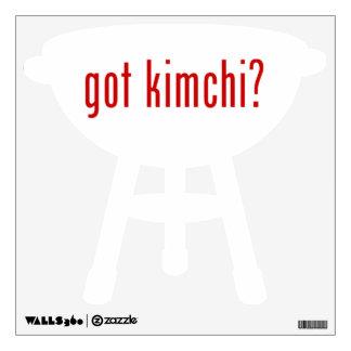 got kimchi? wall skins