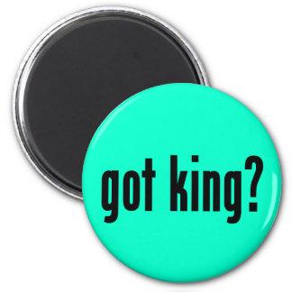 got king? 2 inch round magnet