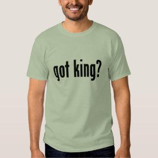 got king? t shirt