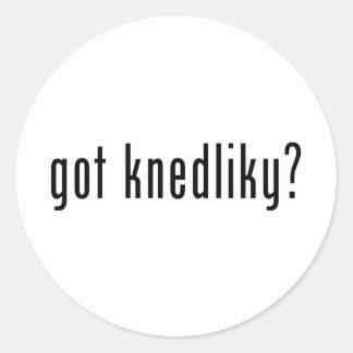 got knedliky? round stickers