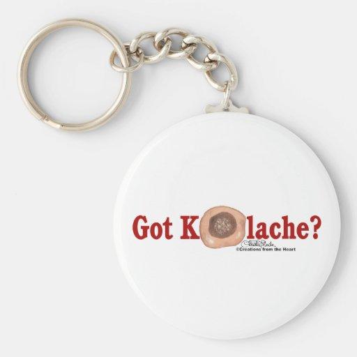 Got Kolache? key chain
