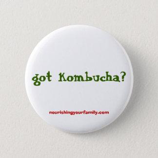 got kombucha?, nourishingyourfamily.com pinback button