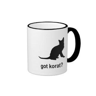 Got Korat? Ringer Coffee Mug