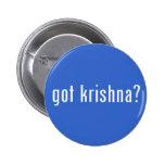 got krishna? pinback buttons