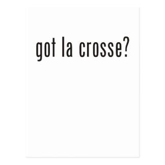 got la crosse? postcard