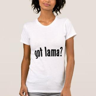 got lama? t shirt