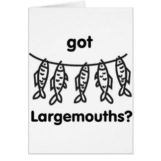 got largemouths stationery note card