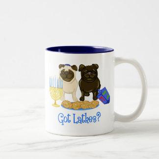 Got Latkes? Hanukkah Pug Mugs