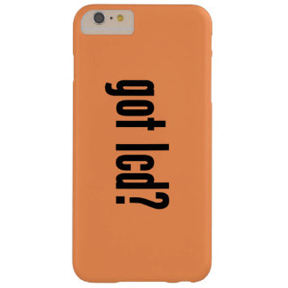got lcd? barely there iPhone 6 plus case