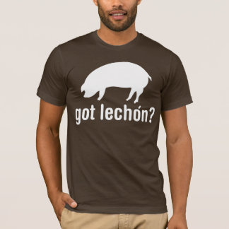Got Lechon - Basic White T-Shirt