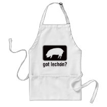 Got Lechon - Black Adult Apron