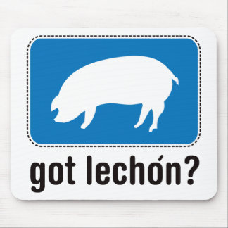 Got Lechon - Blue Mouse Pad
