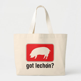 Got Lechon - Red Tote Bags
