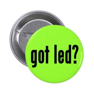 got led? 2 inch round button