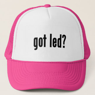 got led? trucker hat