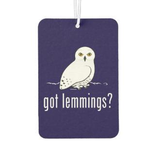 got lemmings? air freshener