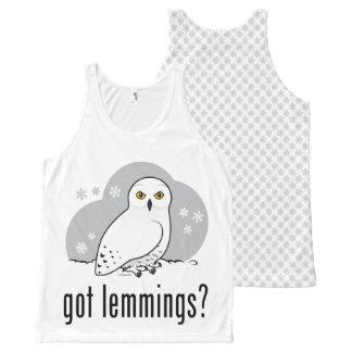 got lemmings? All-Over-Print tank top