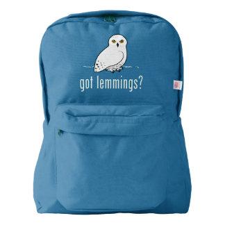 got lemmings? american apparel™ backpack