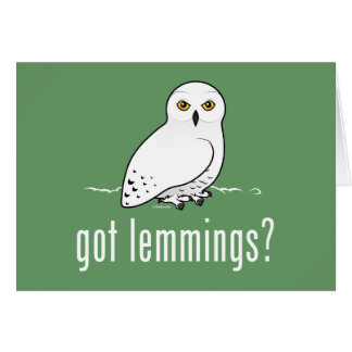 got lemmings? card