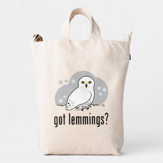 got lemmings? duck bag