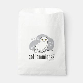 got lemmings? favor bag