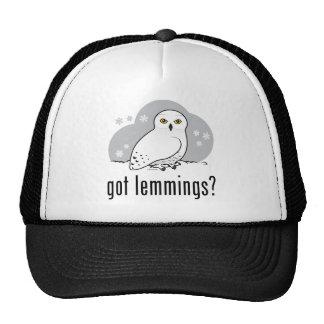 got lemmings? mesh hats