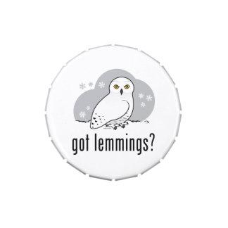 got lemmings? jelly belly tin