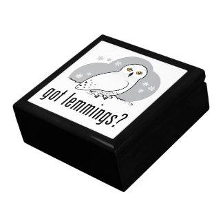 got lemmings? jewelry box