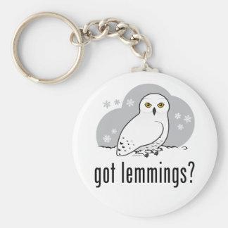 got lemmings? keychain