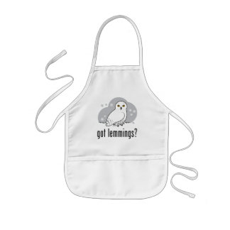 got lemmings? kids' apron