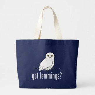 got lemmings? large tote bag